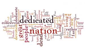 Gettysburg Address Wordle